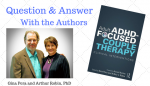 Q&A: Adult ADHD-Focused Couple Therapy