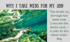 On Trying to Swim Blind: ADHD and Medication
