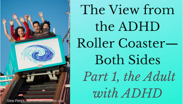 View from the ADHD Roller Coaster Adult with ADHD