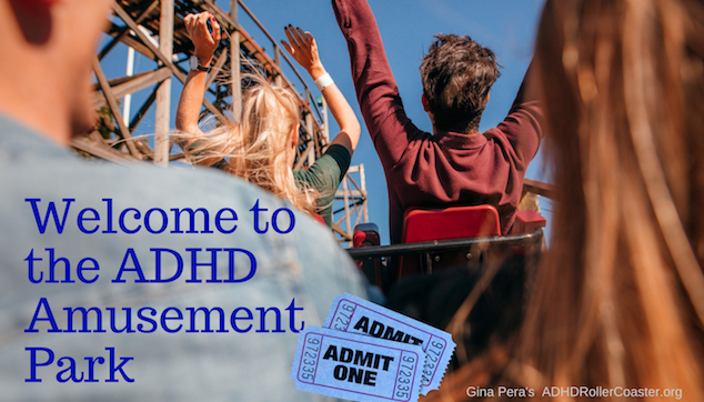 Welcome to the Adult ADHD Amusement Park!