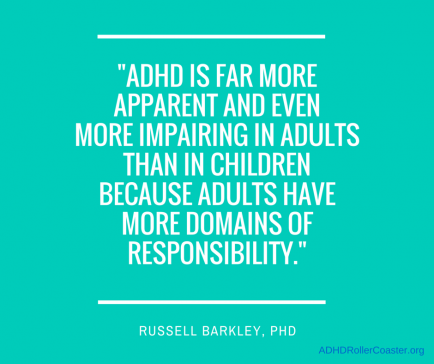 Dr. Russell Barkley on Adult ADHD