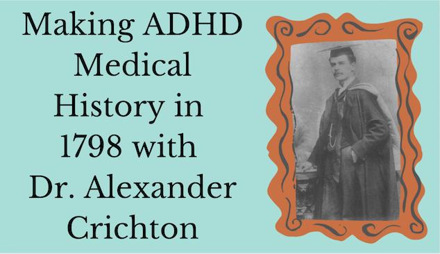 Alexander Crichton ADHD