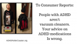 Consumer Reports on Autos? Yes. ADHD Medications? No!
