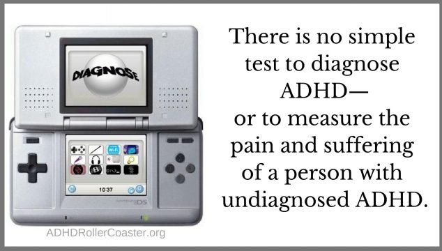 how the adhd diagnosis is made