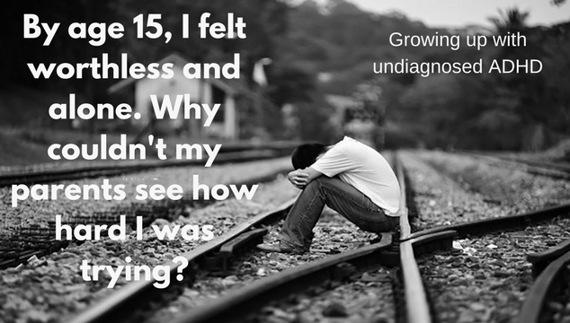 growing up with undiagnosed ADHD