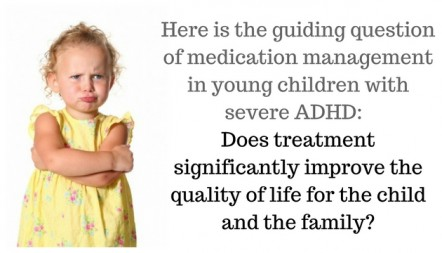 10,000 toddlers Medicated for ADHD