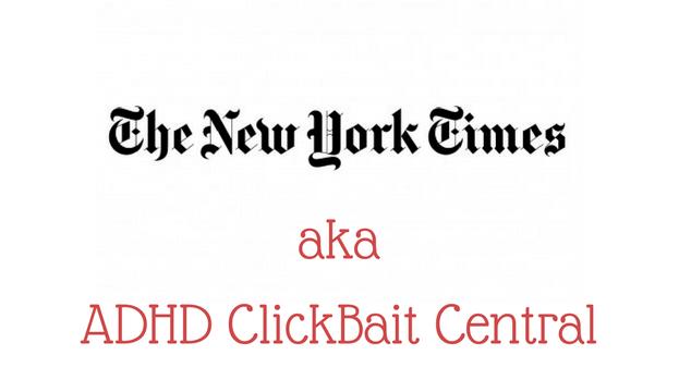 New York Times ADHD