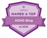 ADHD Roller Coaster Named Top Blog 2015