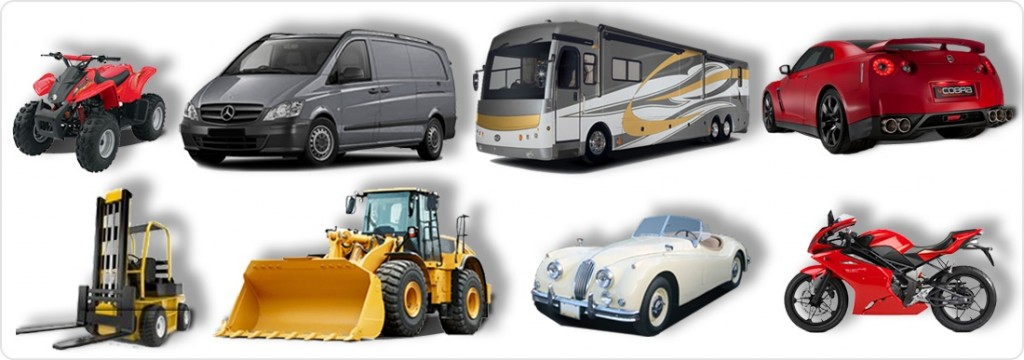 types of vehicles