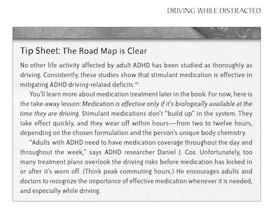 ADHD can affect driving