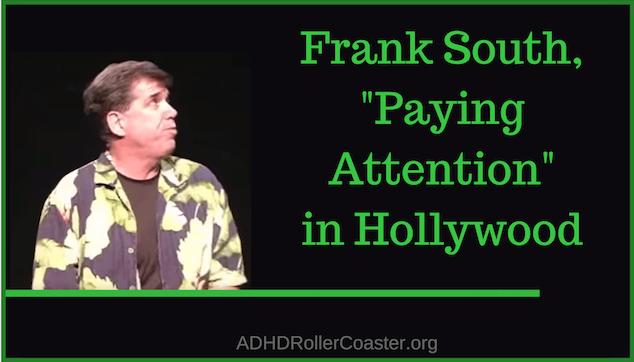 Frank South ADHD Traffic Cop