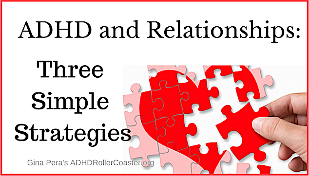 ADHD and Relationship strategies