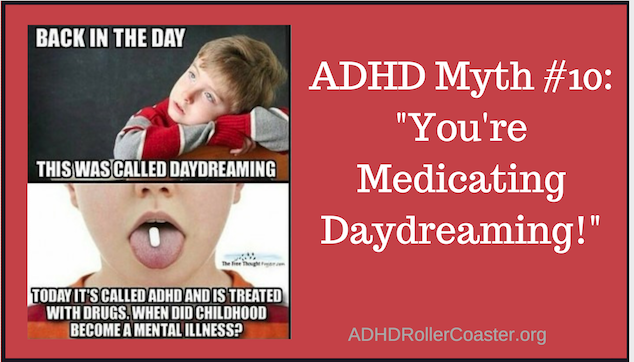 ADHD and daydreaming
