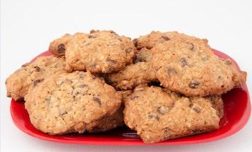 plate of chocolate chip cookies adhd denial