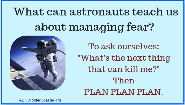 Astronaut Tips for ADHD Adults
