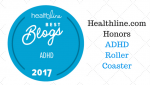 ADHD Roller Coaster Again Named A Best ADHD Blog