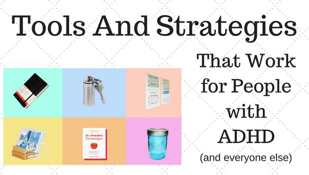 My Top Six ADHD Management Tools