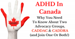 ADHD in Canada: Resources, Research, Advocacy