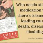 ADHD & Nicotine: Historical Ads
