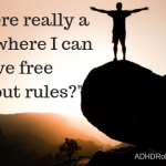A Life Without Rules? ADHD and Escapism