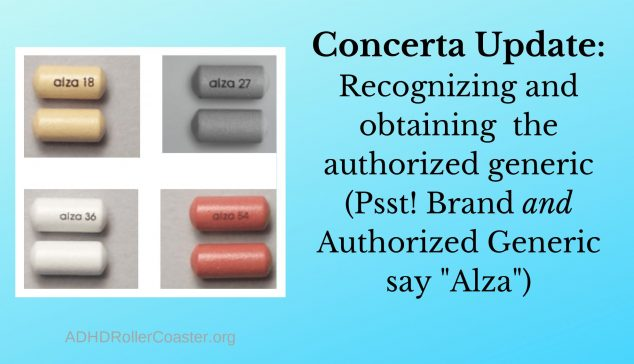 authorized generic Concerta