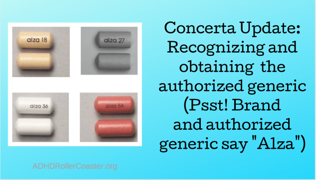 authorized generic Concerta