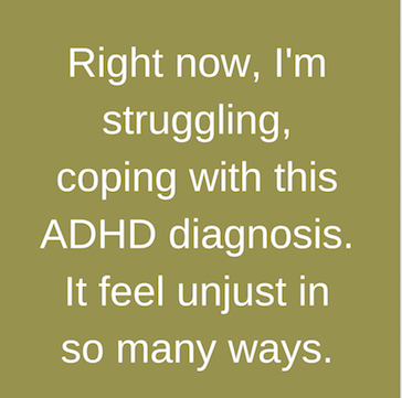 Blindsided by ADHD diagnosis